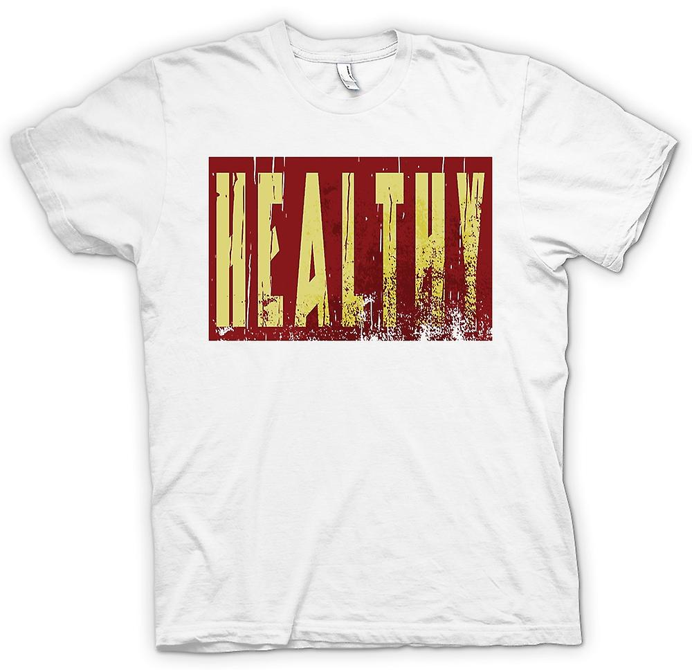 Womens T-shirt - Healthy - Funny Joke