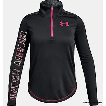 Under Armour tech long sleeve 1/2 zip girls 1317592