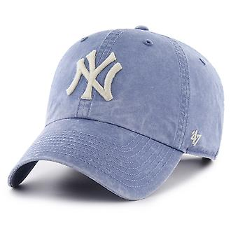 47 fire relaxed fit Cap - HUDSON New York Yankees sky blue