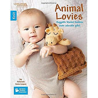 Animal Lovies : Huggable Blanket Buddies Make Adorable Gifts!