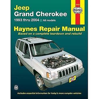 Jeep Grand Cherokee 1993-2004 (manuels de réparation Haynes)