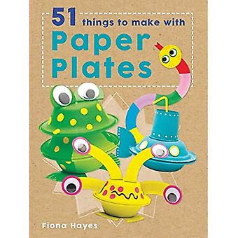 Crafty Makes: 51 Things to� Make with Paper Plates (Crafty Makes)