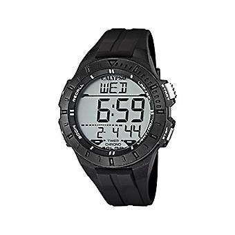 Calypso K5607/6, wristwatch, male, black