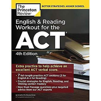 Englisch und Lesung Workout für den Akt