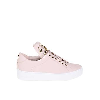 Michael Kors Pink Leather Sneakers