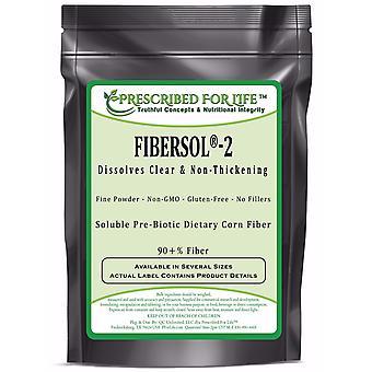 Fiber - Compare to Fibersol(R)-2 - Digestion-Resistant Maltodextrin Pre-Biotic Soluble Fiber - 90+% Fiber