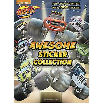 Blaze and the Monster Machines Awesome Sticker Collection (Blaze and