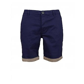 Ganska grön Pretty Green City shorts med turn up