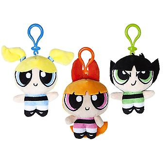 Powerpuff Girls Plush 10cm Bag Clips
