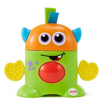 Fisher Price mini potwór Tote wzdłuż Monsters-zielony