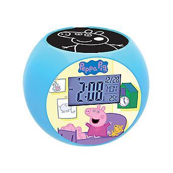 Peppa Pig Projector Alarm Clock