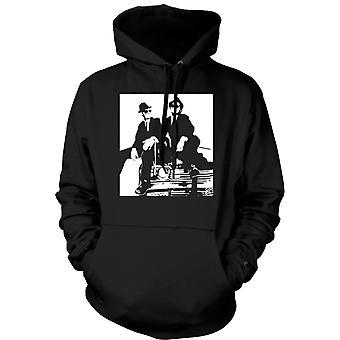 Womens Hoodie - Blues Brothers - Pop Art