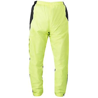 Alpinestars Fluorescent-Black Hurricane Motorcycle Rain Pants