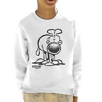 Grimmy On All Fours Kid's Sweatshirt