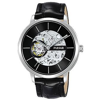 Pulsar classic Automatic Analog Man Watch with P8A003X1 Cowskin Bracelet