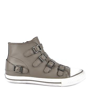 Ash Footwear Venus Perkish Leather Buckle Trainer