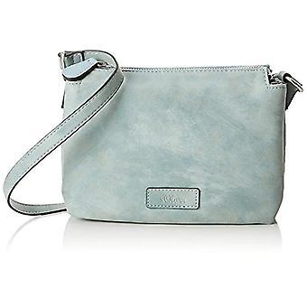 s.Oliver (Bags) Mini Bag - Blue Women's Shoulder Bags (Ice Flow) 4x15x20 cm (B x H T)