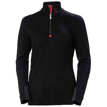 Helly Hansen Mens Lifa Merino Half Zip Thermal Baselayer Top