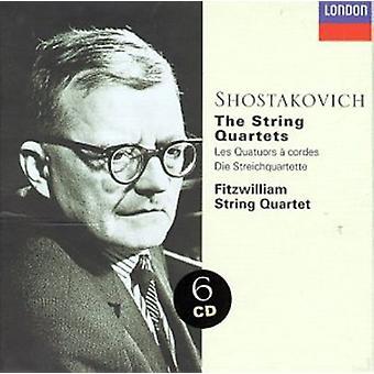 D. Sjostakovitsj-Sjostakovitsj: de strijkkwartetten [CD] VS import