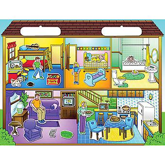 Magnetic Create A Scene Kit Doll House Pp7107