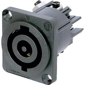 Mains connector ATT.LOV.SERIES_POWERCONNECTORS NAC Socket, vertical vertical Total number of pins: 2 + PE 32 A Black Ne