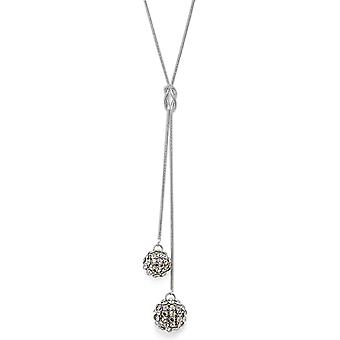 Crystal Mesh Ball Pendant Necklace PMB112.2