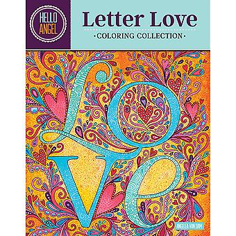 Design Originals-Letter Love Coloring Collection DO-01439