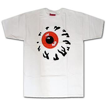 Mishka Keep Watch t-shirt bianco nero arancio
