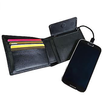 Jadeco Design Mighty Power Wallet with Phone Charger
