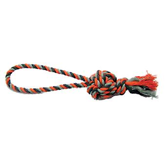 Duvo+ Rope Ball  Orange Dummy (Dogs , Toys & Sport , Ropes)