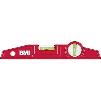 Spirit level 250 mm BMI 689025 TM 0.5 mm/m Calibrated to: Manufacturer standards