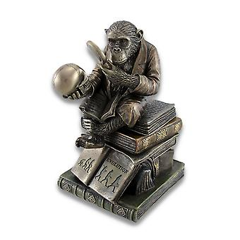Smart Chimpanzee Scholar Trinket Box Stash Box