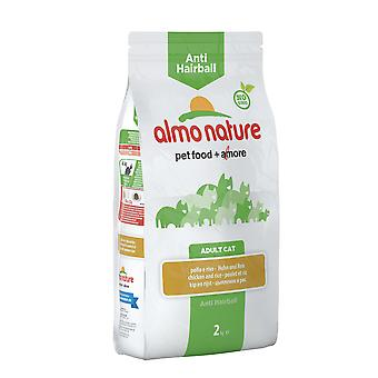 Almo Nature Holistic Anti-hairball Cat With Chicken And Rice 2kg
