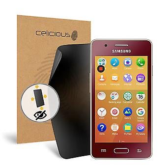 Celicious Privacy Plus Samsung Z2 4-Way Visual Black Out Screen Protector