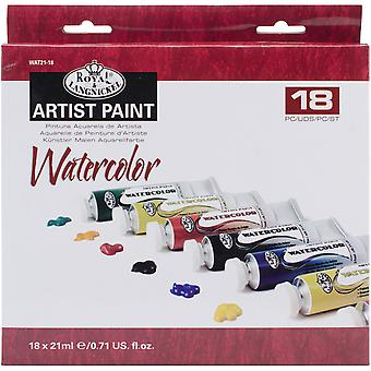 Watercolor Paints 21ml 18/Pkg-Assorted Colors WAT21-18