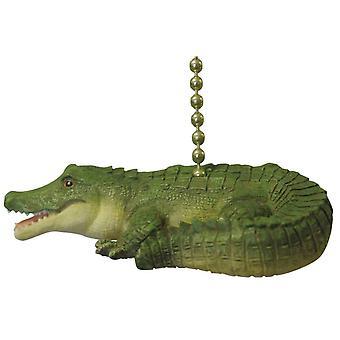Alligator Gator loft Fan Pull eller lys Pull