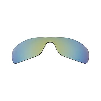 New SEEK Polarized Replacement Lenses for Oakley Sunglasses ANTIX Green Mirror
