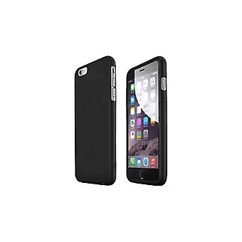 EASYDIST-Cover for mobile phone-rubberized polyurethane-black-for Apple iPhone 7