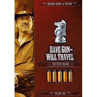 Have Gun Will Travel - Have Gun Will Travel: Fifth Season Volume One [DVD] USA import