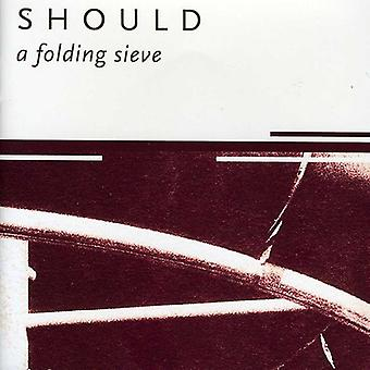 Should - Folding Sieve [CD] USA import