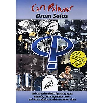 Carl Palmer - Drum Solos [DVD] USA import