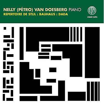 Petro Van Doesburg - Nelly (P Tro) Van Doesburg spiller Repertoire De Stijl, Bauhaus, Dada [CD] USA import