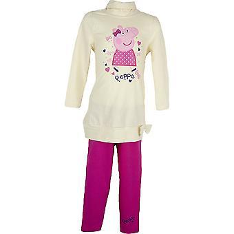 Girls Peppa Pig Clothing set TunicDress & Leggings NH6110.I06