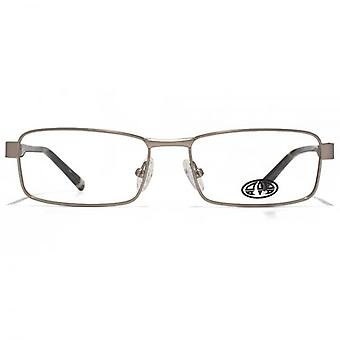 Animal Blake Soft Rectangle Glasses In Gunmetal