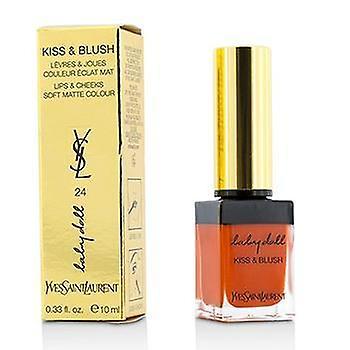 Yves Saint Laurent Baby Doll Kiss & Blush - # 24 Orange Intrepide - 10ml/0.33oz