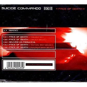 Selvmord Commando - ansigt død [CD] USA import
