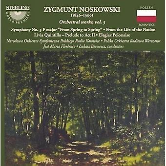Noskowski / Narodowa Orkiestra Symfoniczna Olskieg - orkesterværker 3 [CD] USA import