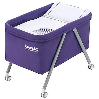 Interbaby Lila White Basic Patas minicuna (Home , Babies and Children , Bedroom , Cribs)