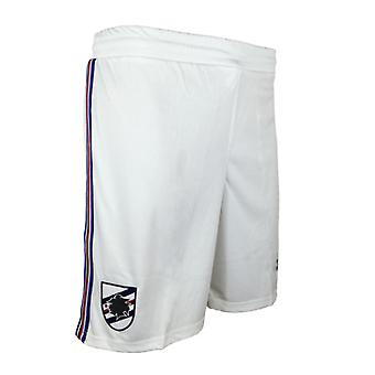 2017-2018 Sampdoria Joma Home Football Shorts (White)