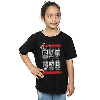 Run DMC Girls Spray Cans T-Shirt